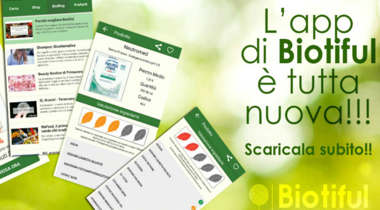 biotiful app cosmetici