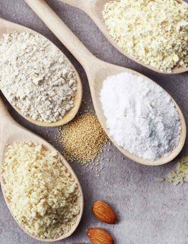 Celiachia: 15 farine alternative al frumento per poterle usare in cucina