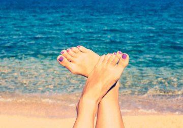 scrub piedi cosmesi