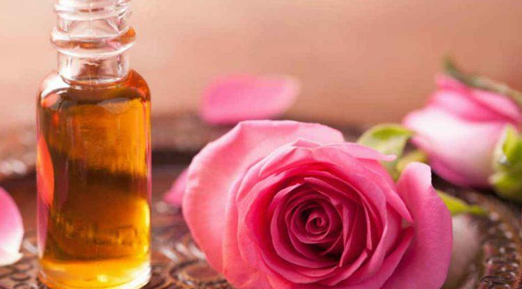 olio essenziale rosa