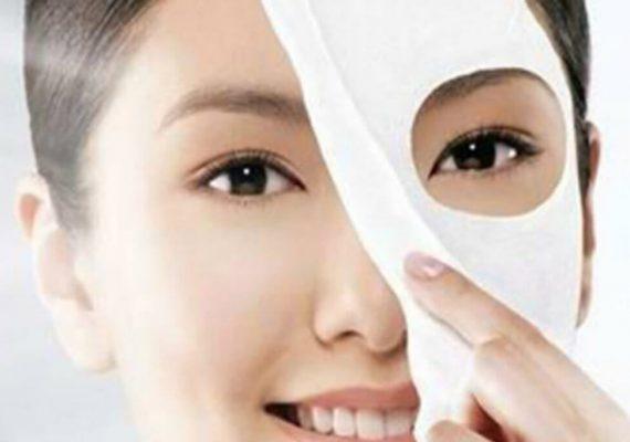 maschera in tessuto
