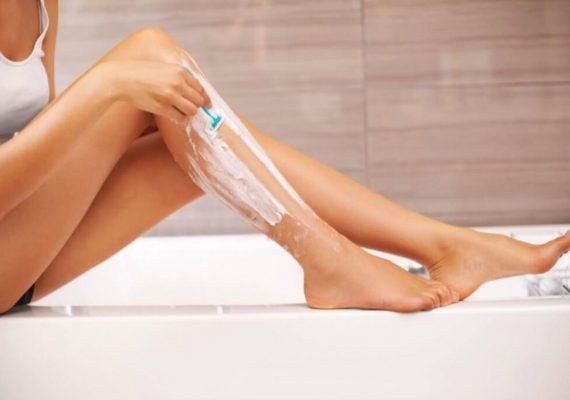 Gambe perfette in pochi minuti con il gel rasatura fai da te