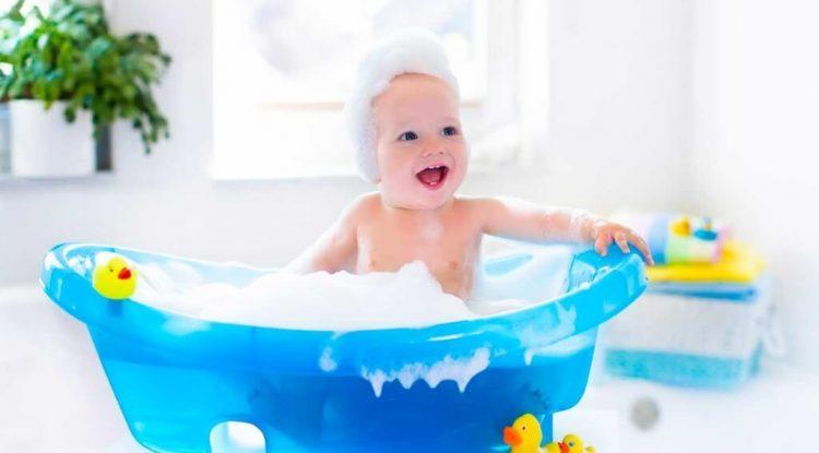 bagnetto colorato bambini