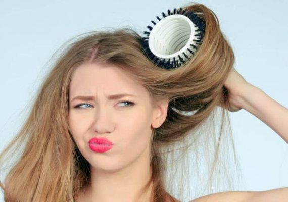 asciugare i capelli correttamente