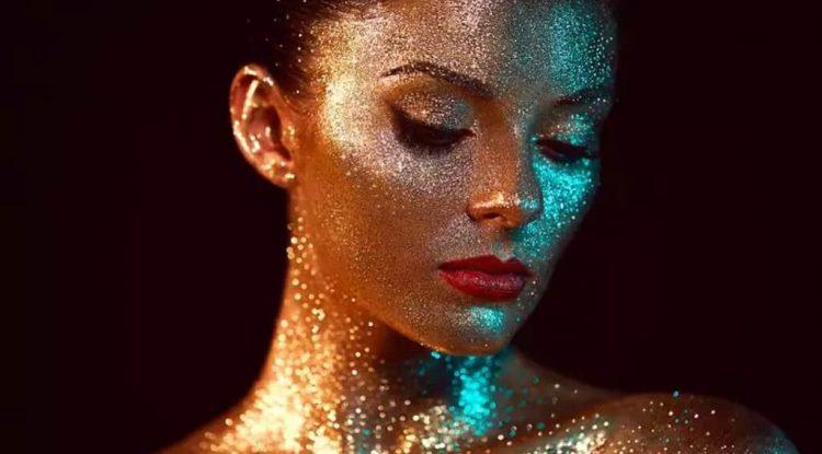 glitter corpo fai da te