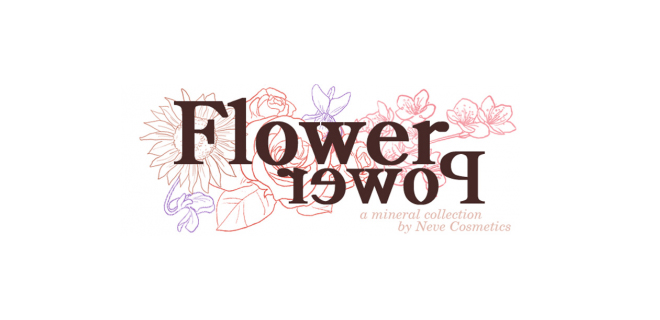 Flower Power Neve Cosmetics