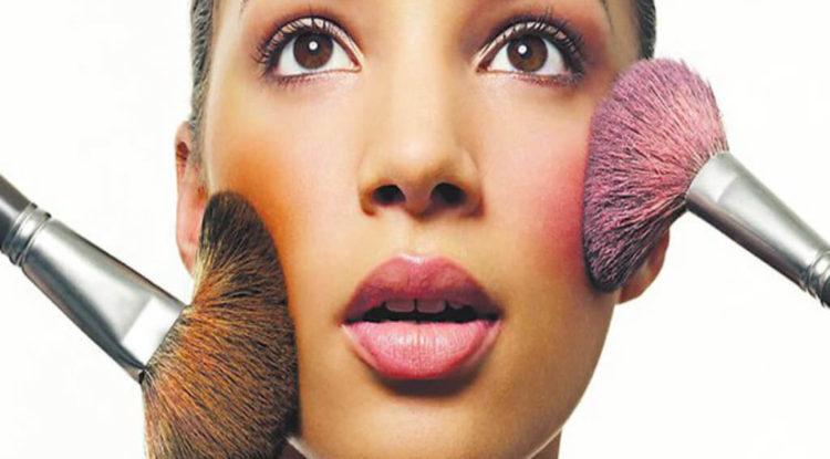 blush multicolore