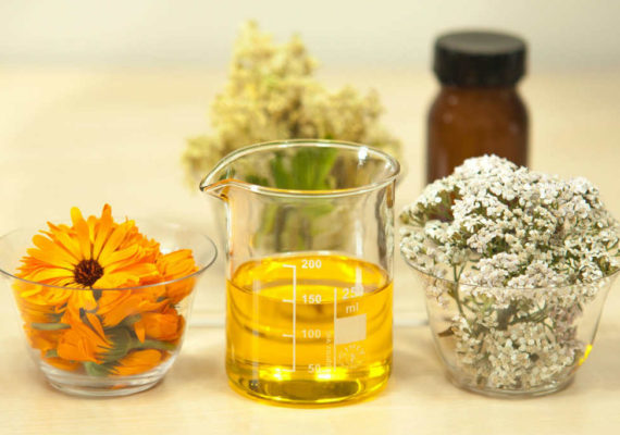 olio essenziale calendula
