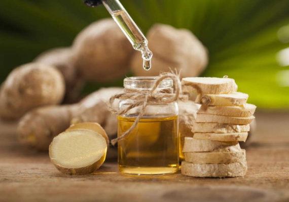 olio essenziale zenzero capelli