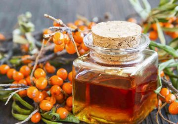 olivello spinoso cosmesi