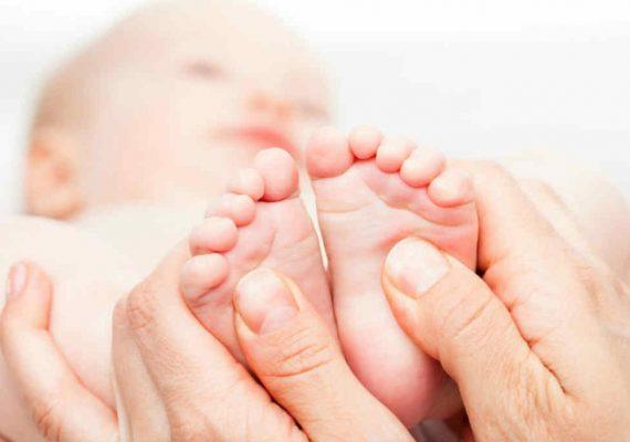 massagio bambini olio essenziale