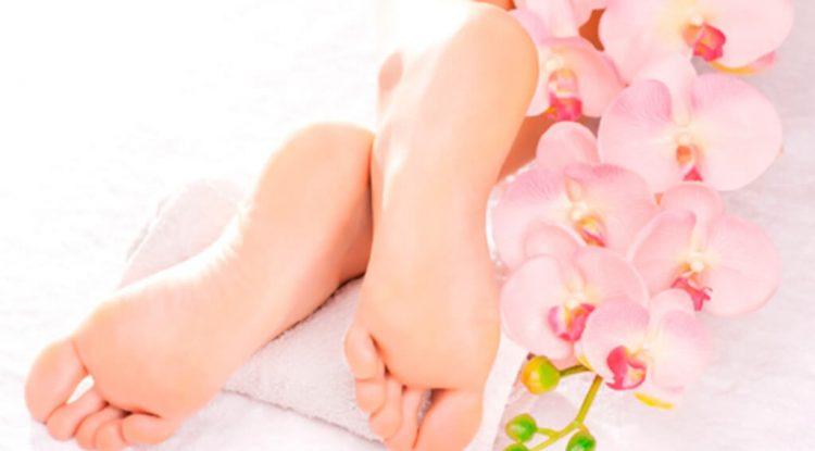 deo spray piedi